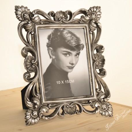 Fotorámeček Gotic • 10x15 cm Barva stříbrná