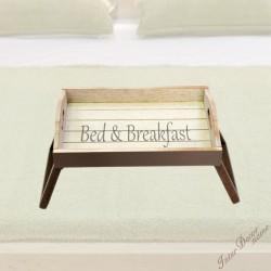 Servírovací stolek na opěrku Bed & Breakfast
