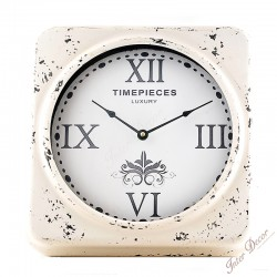 Wall clock TIMEPEACES LUXURY