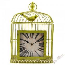 Clock • Bird cage