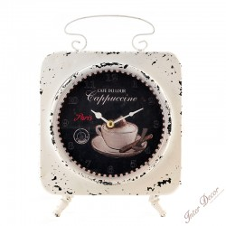 Oboustranné hodiny Cappuccine