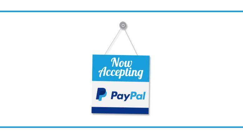 Platby přes PayPal